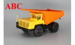 БелАЗ-7510 самосвал-углевоз, желтый / оранжевый, Код модели: H0052