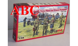 Пилоты и техники ВВС СССР (1943-1945 г.) , Код модели: 48084, миниатюры, фигуры, ICM, scale48