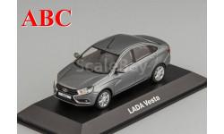 Lada Vesta серый металлик, Код модели:  44.02.90.500