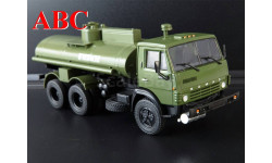 АЦ-9 (5320) Легендарные грузовики СССР №6, Код модели: LG006, масштабная модель, КамАЗ, scale43