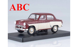 Москвич-407 Легендарные советские Автомобили №12, Код модели: LSA12, журнальная серия масштабных моделей, Hachette, 1:24, 1/24