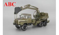 КрАЗ-260 ЭОВ-4422, темно зеленый, Код модели:  Н749