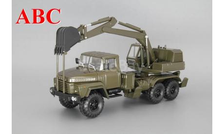 КрАЗ-260 ЭОВ-4422, темно зеленый, Код модели:  Н749, масштабная модель, Наш Автопром, 1:43, 1/43