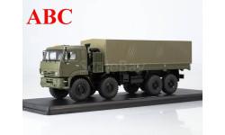 КАМАЗ-6560 бортовой (с тентом) , Код модели: SSM1382