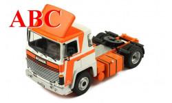 Scania LBT 141 1976 белый /  оранжевый , Код модели: TR032