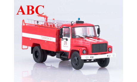 АЦ-30 (3307) , Код модели: TR1030, масштабная модель, Наши Грузовики, scale43, ГАЗ