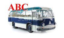 ЛАЗ 695Б городской «Ультрамарин», Код модели: UM43-B004B, масштабная модель, ULTRA Models, 1:43, 1/43