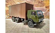 Камаз 53212 контейнеровоз со следами эксплуатации, масштабная модель, Start Scale Models (SSM), 1:43, 1/43