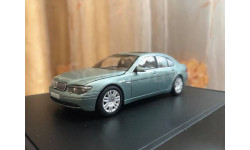 BMW 7 series E65 2001 Minichamps 1:43 БМВ Миничампс