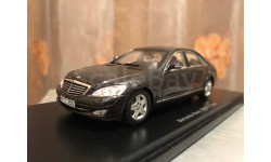Mercedes Benz S class W221 Limousine 1:43 Spark Мерседес Спарк