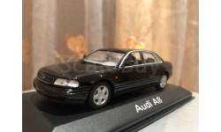 Audi A8 D2  Limousine Minichamps Balck 1999 Ауди Миничампс, масштабная модель, 1:43, 1/43