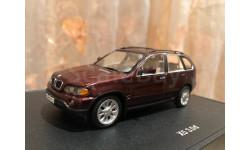 BMW X5 3.0d E53 Minichamps Dealer БМВ Миничампс, масштабная модель, 1:43, 1/43