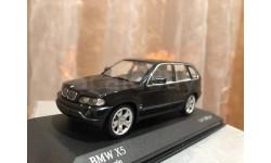 BMW X5 4.4i E53 1:43 Minichamps Green БМВ Миничампс