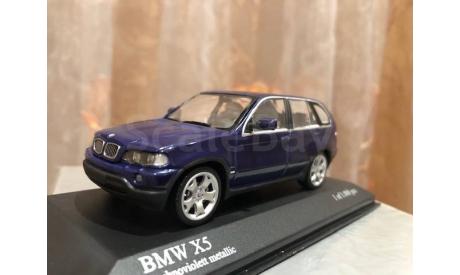 BMW X5 E53 1:43 Minichamps Purle БМВ Миничампс, масштабная модель, scale43
