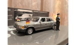Mercedes Benz 450 SEL 6.9 W116 1:43 Minichamps Мерседес Миничампс Kanzler Helmut Schmidt