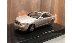 Mercedes Benz S class 600 SEL Limousine W221 Silver Autoart Мерседес Автоарт