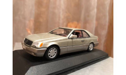 Mercedes Benz 600 SEC Coupe W140 Minichamps 1:43 Мерседес Миничампс