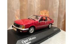 Opel Monza 1980 Minichamps 1:43 Опель Монза Миничампс 400045121, масштабная модель, 1/43