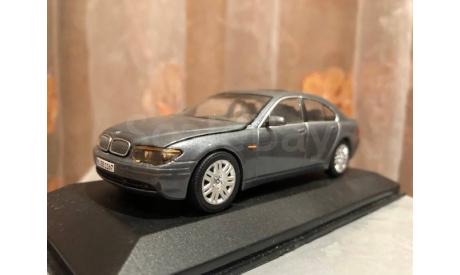 BMW 7-er E65 Minichamps 1:43 БМВ Миничампс, масштабная модель, 1/43