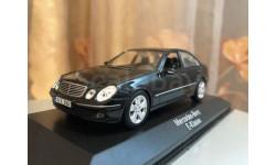 Mercedes Benz E 320 W211 2007 Limousine 1:43 Minichamps Black Мерседес Миничампс