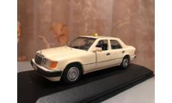 Mercedes Benz E 250 TD W124 1:43 Minichamps Taxi Мерседес Миничампс Такси