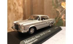 Mercedes Benz 280 Se 3.5 Coupe W111 1:43 Minichamps Мерседес Миничампс