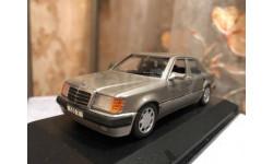 Mercedes Benz 500 E class W124 1:43 Minichamps Мерседес Волчок
