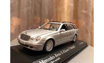 Mercede Benz E 320 T model W211 1:43  Minichamps Мерседес Миничампс, масштабная модель, 1/43, Mercedes-Benz