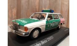 Mercedes Benz 250TD W123 Polizei Berlin 1:43 Minichamps Мерседес Миничампс, масштабная модель, Mercedes-Benz, scale43
