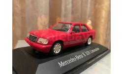Mercedes Benz E 320 W124 1:43 Herpa Мерседес Херпа, масштабная модель, Minichamps, Mercedes-Benz, scale43