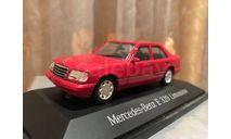 Mercede Benz E 320 W124 1:43 Herpa Мерседес Херпа, масштабная модель, 1/43, Minichamps, Mercedes-Benz