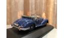 Mercedes Benz 300 S Cabrio Open W188 Minichamps Blue Мерседес Кабриолет, масштабная модель, 1:43, 1/43, Mercedes-Benz