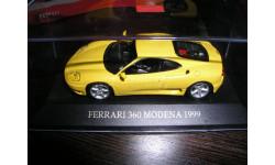 Ferrari 360 Modena 1999, масштабная модель, 1:43, 1/43, IXO Ferrari (серии FER, SF)