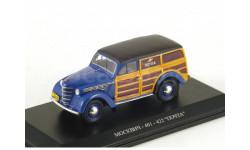 Москвич 401-422 Почта (синий), масштабная модель, 1:43, 1/43, DiP Models
