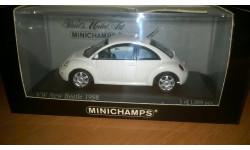 Volkswagen New Beetle 1998, масштабная модель, Minichamps, 1:43, 1/43