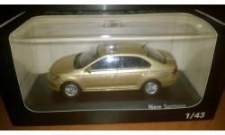 Volkswagen New Santana, масштабная модель, Shanghai Volkswagen, 1:43, 1/43