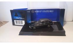 MGB GT Coupe MKII 1969, масштабная модель, 1:43, 1/43, Autoart