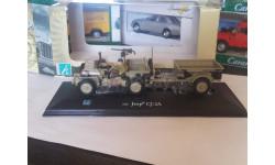 Jeep CJ-2A с прицепом Cararama 1/43