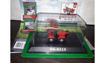 № 111 МА-6210, масштабная модель трактора, беларрус, Тракторы. История, люди, машины. (Hachette collections), scale43