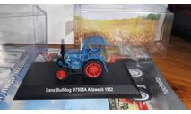 № 57 Lanz Bulldog D7506A Allzweck 1952, масштабная модель трактора, беларрус, Тракторы. История, люди, машины. (Hachette collections), scale43