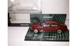 Bentley Mulsanne Minichamps, масштабная модель, 1:43, 1/43