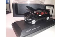 BMW 2 Series Coupe (F22) чёрный Minichamps, масштабная модель, scale43