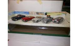 Mercedes 5 моделей Cararama 1/43
