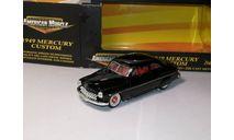 Mercury Custom 1949 Ertl 1/43, масштабная модель, ERTL (Auto World), 1:43