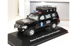 Nissan Patrol 2005 SDU Hong Kong Police, масштабная модель, scale43, J-Collection