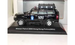Nissan Patrol 2005 SDU Hong Kong Police, масштабная модель, 1:43, 1/43, J-Collection