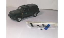 2 шт. Nissan Patrol GR разбитый и донор, масштабная модель, 1:43, 1/43, J-Collection