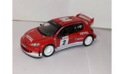 Peugeot 206 WRC №2 IXO/Altaya 1/43, масштабная модель, 1:43