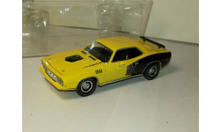 Plymouth Cuda Hemi 1971г ERTL 1/43 с дефектами, масштабная модель, 1:43, ERTL (Auto World)