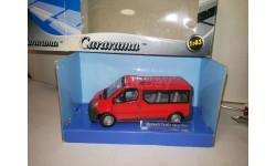 Renault Trafic Mini Bus Cararama 1/43, масштабная модель, 1:43, Bauer/Cararama/Hongwell